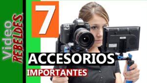 Accesorios para cámaras de vídeo